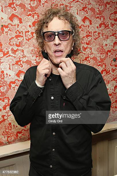 Mick Rock attends the Casa Reale Fine Jewelry Launch at The Box on June 17 2015 in New York City