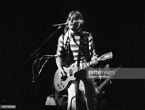 Mick Ronson performs on stage at Paradiso Amsterdam ca 1975