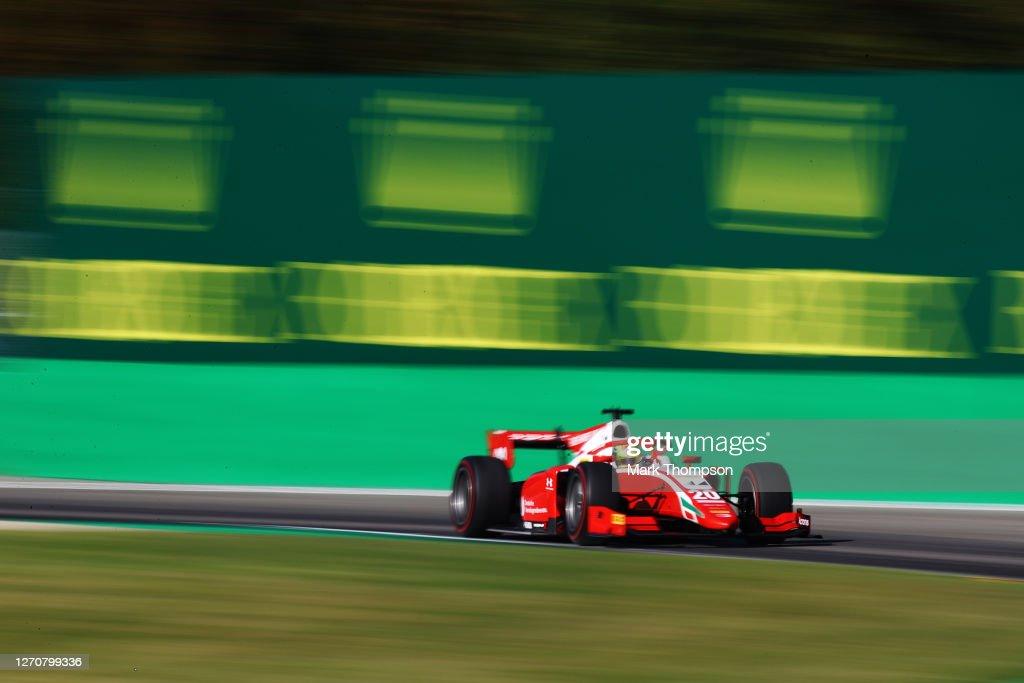 Formula 2 Championship - Round 8:Monza - Feature Race : News Photo