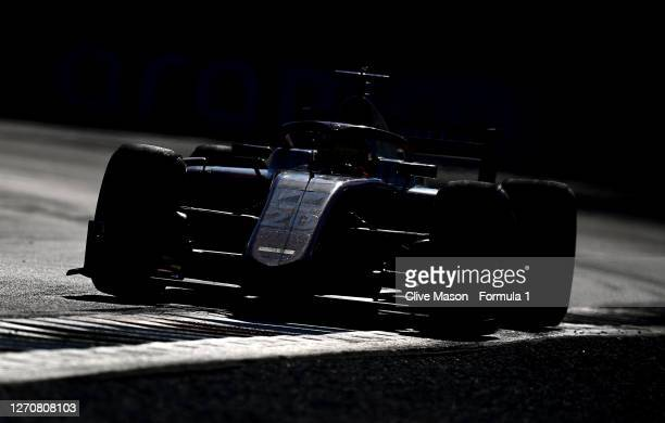 Mick Schumacher of Germany and Prema Racing drives on track during the feature race for the Formula 2 Championship at Autodromo di Monza on September...