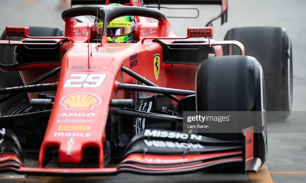 BHR: F1 Testing in Bahrain