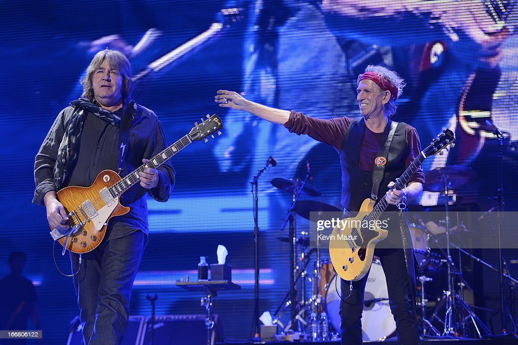 The Rolling Stones - 50 And Counting Tour - New Jersey : News Photo