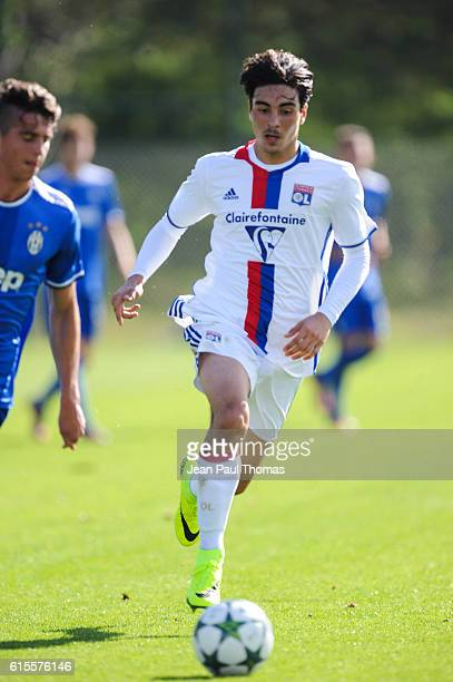 Mickael ALMEDIA of Lyon during the Youth League match between Lyon and Juventus at Plaine des Jeux de Gerland on October 18 2016 in Lyon France