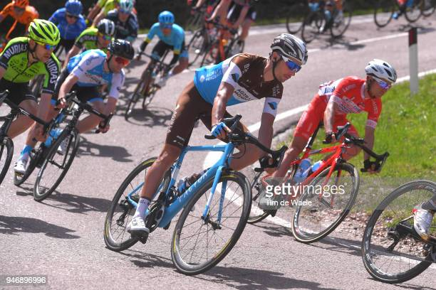Mickael Cherel of France and Team AG2R La Mondiale / during the 42nd Tour of the Alps 2018 Stage 1 a 1346km stage from Arco to Folgaria 1160m on...