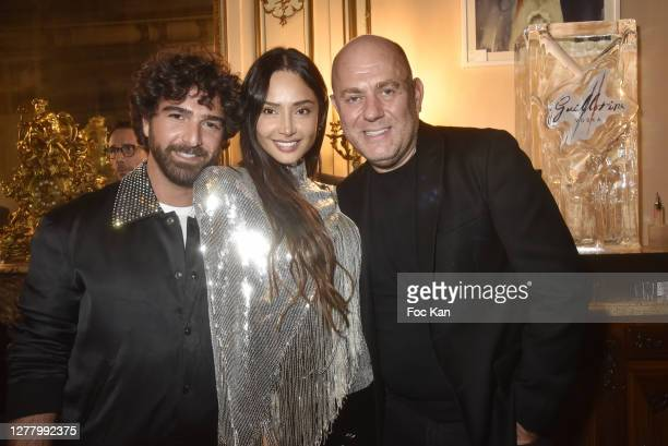 "Mickael Dahan, Patricia Contreras and Francesco Maio attends the Cocktail ""Karine Ohana And Co"" Hosted by Katia Solotsinskaya, Karine Ohana and..."