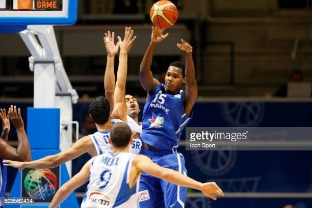 Mickael GELABALE France / Israel Championnat d'Europe Basket ball