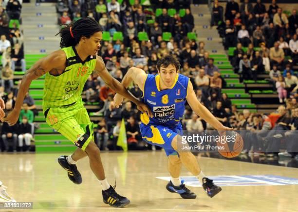 Mickael GELABALE Shaun FEIN Asvel / Hyeres Toulon 17e journee Pro A