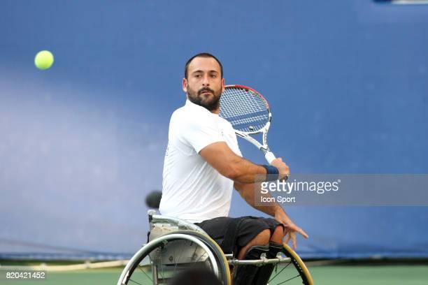 Mickael JEREMIASZ Finale Double Tennis Jeux Paralympiques 2008 Pekin