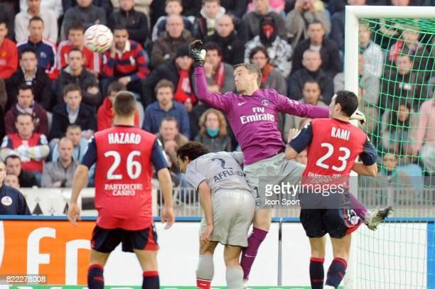 Mickael LANDREAU / Adil RAMI Lille / PSG 31 eme journee de Ligue 1 Stadium Nord Lille Villeneuve d'Ascq