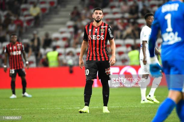 Mickael Le Bihan of Nice during the Ligue 1 match between Nice and Amiens at Allianz Riviera on August 10, 2019 in Nice, France.