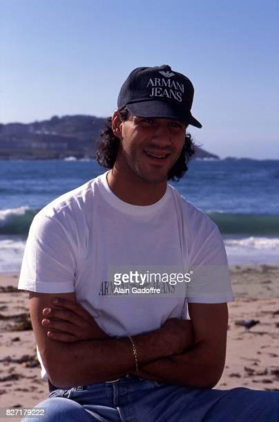Mickael Madar of Deportivo La Coruna during a photoshoot on October 3 1996 in Coruna Spain Alain Gadoffre / Onze / Icon Sport