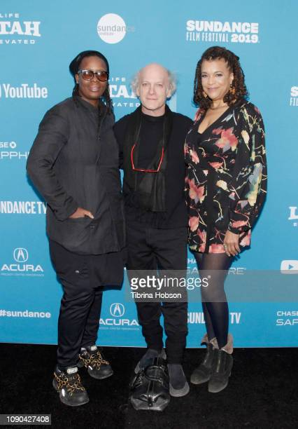 Mickalene Thomas Timothy GreenfieldSanders and Kathryn Bostic attend the 'Toni Morrison The Pieces I Am' Premiere during the 2019 Sundance Film...