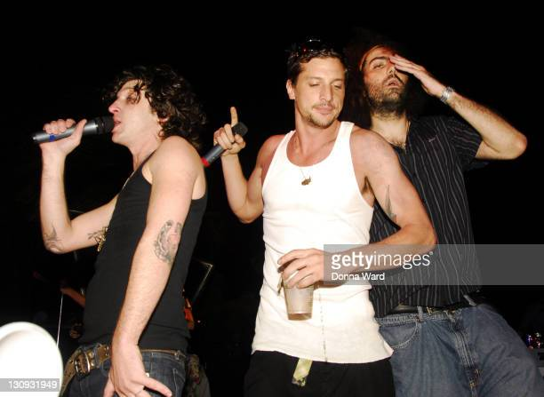 Mickey Avalon Simon Rex and Andre Legacy during Winter Music Conference 2007 Heineken Premium Light at the Sagamore Presents Robin Thicke Day 1 at...