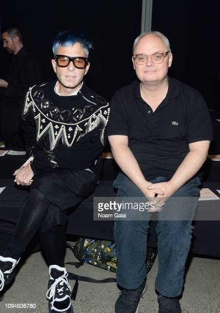Mickey Boardman attends the 11 Honore front row during New York Fashion Week The Shows at Gallery I at Spring Studios on February 6 2019 in New York...