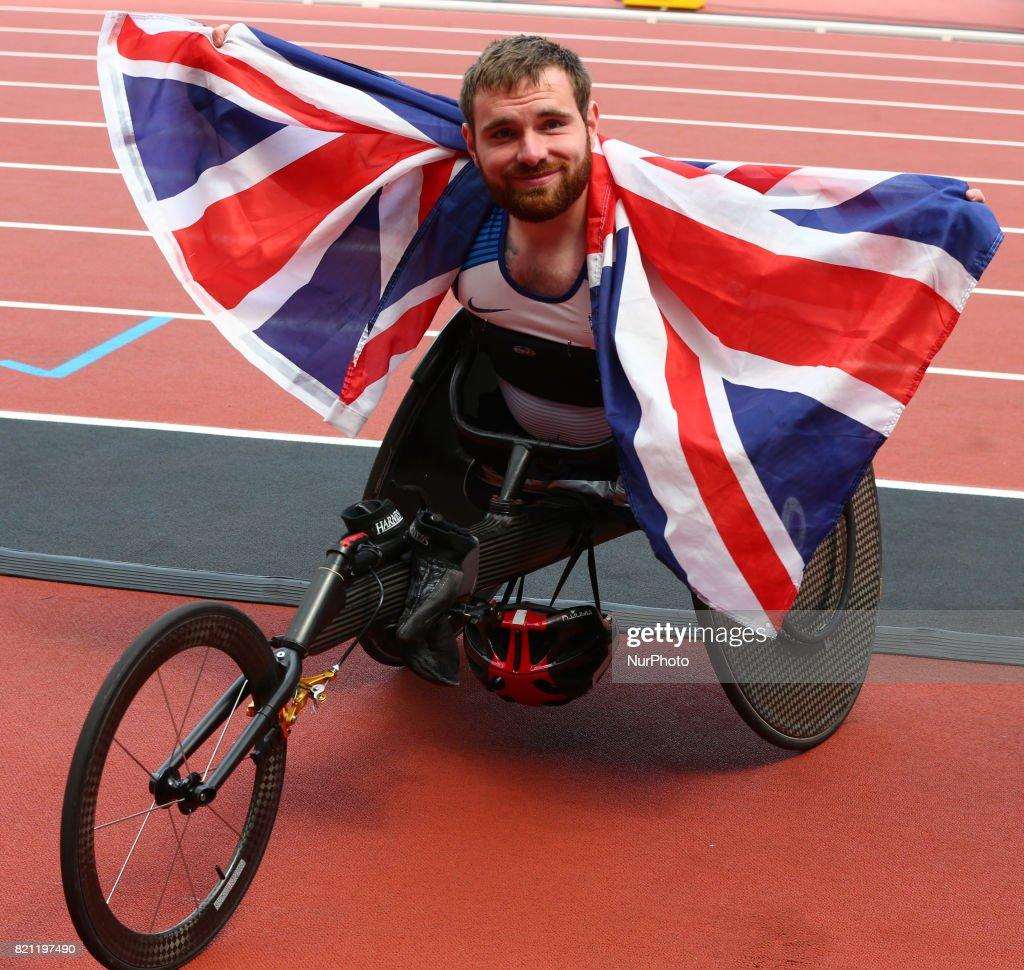 IPC World ParaAthletics Championships 2017 London - Day Nine