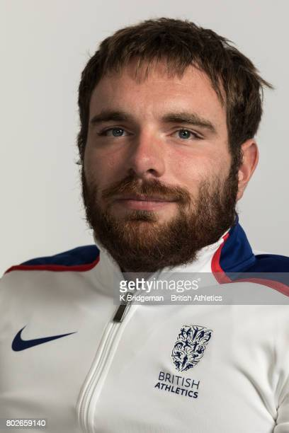 Mickey Bushell of Great Britain poses for a portrait during the British Athletics World Para Athletics Championships Squad Photo call on June 25 2017...