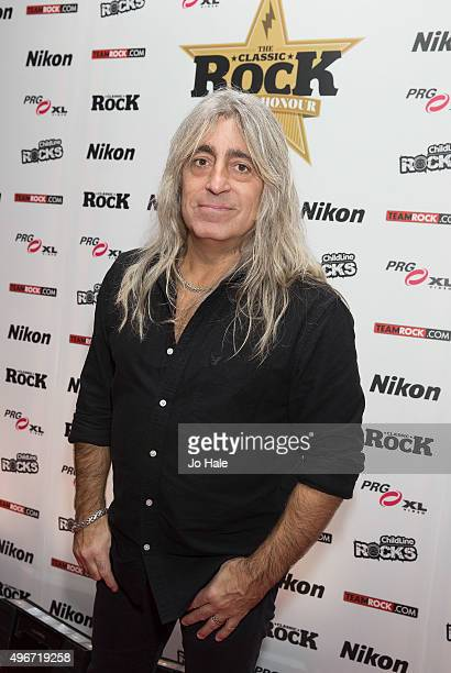 Mickey Dee of Motorhead attends the Classic Rock Roll of Honour at The Roundhouse on November 11 2015 in London England