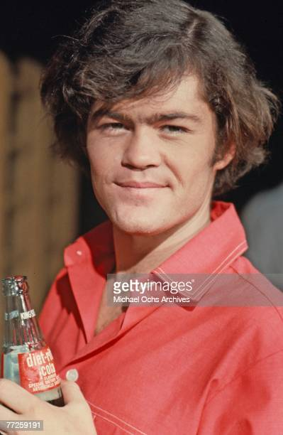 Mickey Dolenz on the set of the television show The Monkees in May 1967 in Los Angeles California
