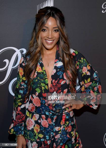 Mickey Guyton attends a special screening and reception for Patsy Loretta presented by Lifetime at the Franklin Theatre on October 09 2019 in...