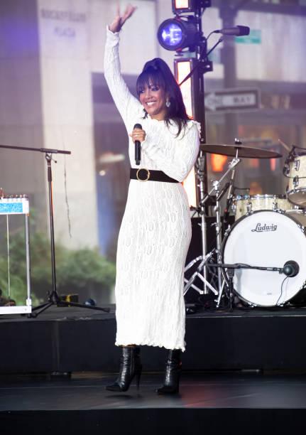"""NY: Mickey Guyton Performs On NBC's """"Today"""""""