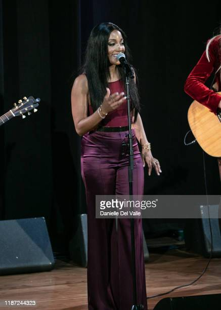 Mickey Guyton performs onstage during the 2019 CMT Next Women Of Country at CMA Theater at the Country Music Hall of Fame and Museum on November 12...