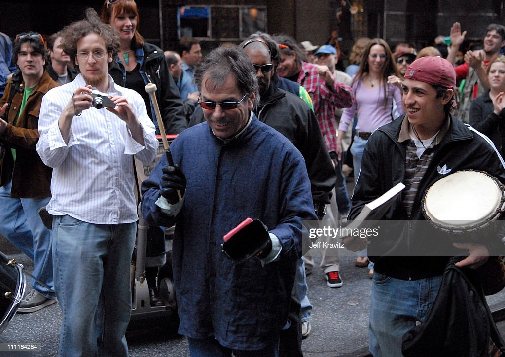 Mickey Hart and Mutaytor during Green Apple Music Festival - Mickey Hart - April 21, 2006 at Stage at 44th & Vanderbilt in New York City, New York, United States.