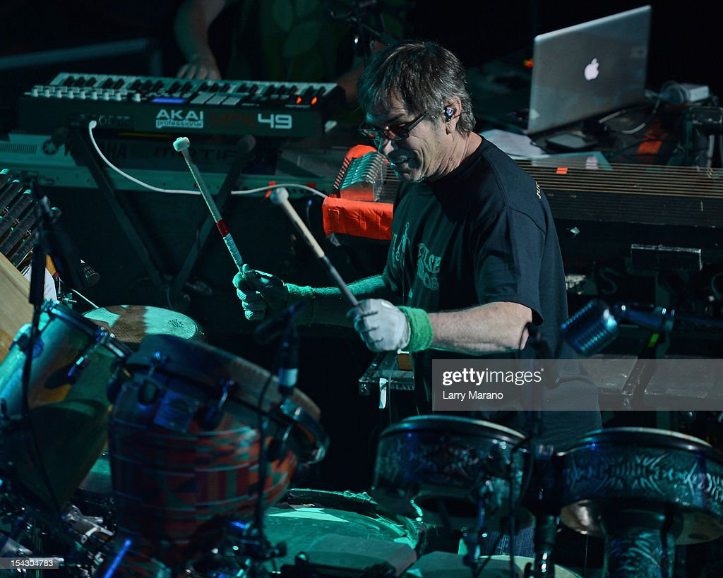 Mickey Hart performs at Revolution on October 17, 2012 in Fort Lauderdale, Florida.