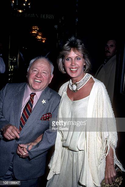 Mickey Jan Rooney during Opening Night Party for Sugar Babies at Brown Derby Restaurant in Hollywood California United States