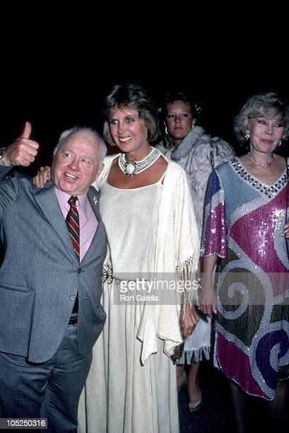 Mickey Jan Rooney Ruth Webber during Opening Night Party for Sugar Babies at Brown Derby Restaurant in Hollywood California United States