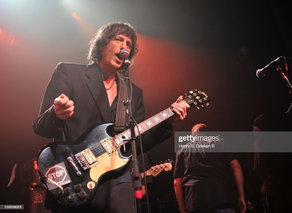 Mickey Leigh performs at the Joey Ramone Foundation For Lymphoma Research benefit concert at The Fillmore New York at Irving Plaza on May 19, 2010 in New York City.