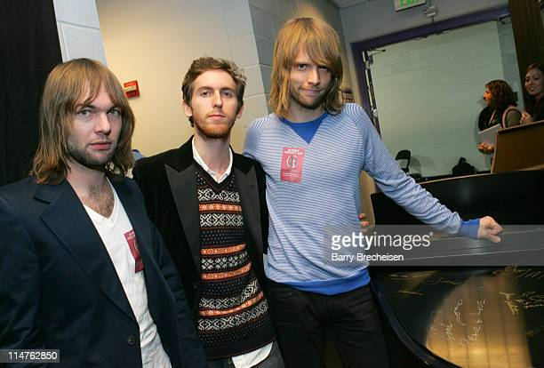Mickey Madden Jesse Carmichael and James Valentine of Maroon 5