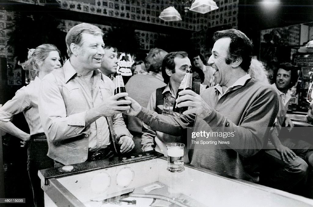 Mickey mantle new york yankees pictures getty images mickey mantle films a natural light beer commercial circa 1977 mozeypictures Image collections