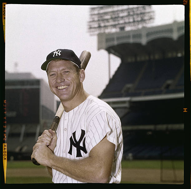 NY: 13th August 1995 - 25 Years Since Death Of Yankee Legend Mickey Mantle