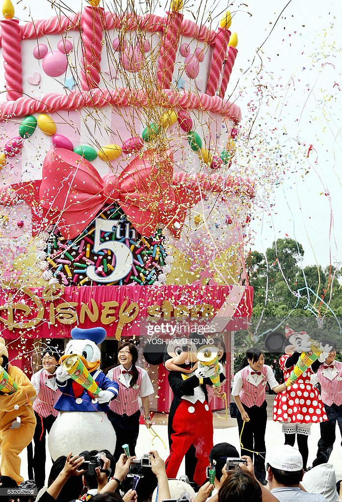 Mickey Mouse and Disney characters set o Pictures Getty Images
