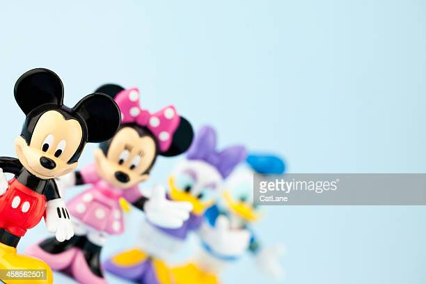 mickey mouse and friends - disney stock pictures, royalty-free photos & images