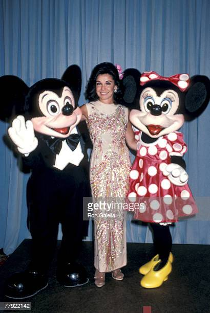 Mickey Mouse Annette Funicello and Minnie Mouse