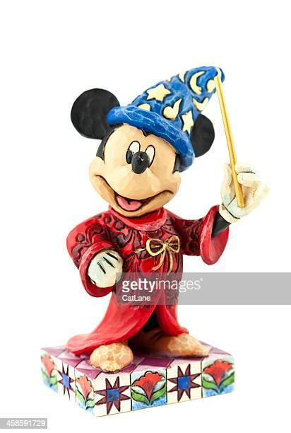 mickey mouse como el aprendiz de brujo - disney world fotografías e imágenes de stock