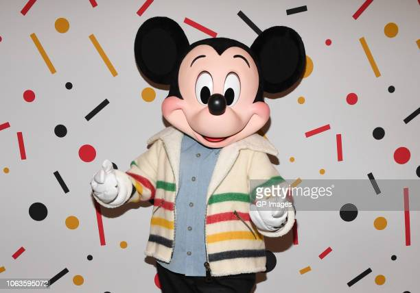 Mickey Mouse attends Hudson's Bay welcomes everyone's favorite pal Mickey Mouse To Queen Street Store For 90th Anniversary Celebration on November 19...