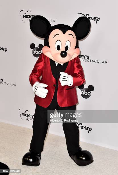 Mickey Mouse attends Mickey's 90th Spectacular at The Shrine Auditorium on October 6 2018 in Los Angeles California