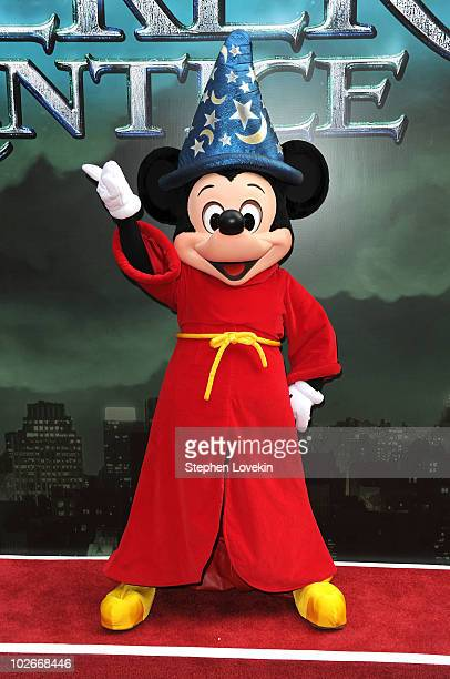Mickey Mouse attends the premiere of 'The Sorcerer's Apprentice' at the New Amsterdam Theatre on July 6 2010 in New York City