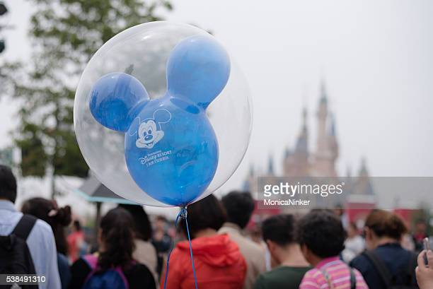 mickey mouse ballon - disney stock pictures, royalty-free photos & images