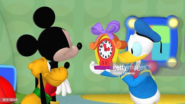 'Mickey Mouse Clubhouse Mickey's Adventures in Wonderland' When Donald's birthday gift for Daisy a mechanical cuckoo bird flies away Mickey and pals...