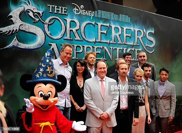 Mickey Mouse Commissioner of the Mayor's Office for Film Theater and Broadcasting Katherine Oliver producer Jerry Bruckheimer director Jon Turteltaub...
