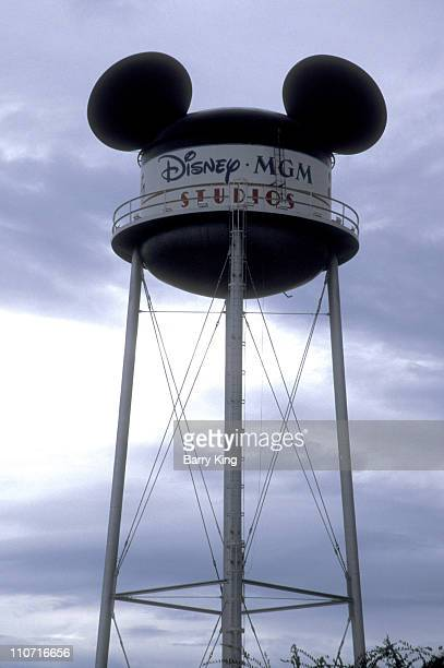 Mickey Mouse Ears on Water Tank at Disney MGM Studios in Orlando Florida