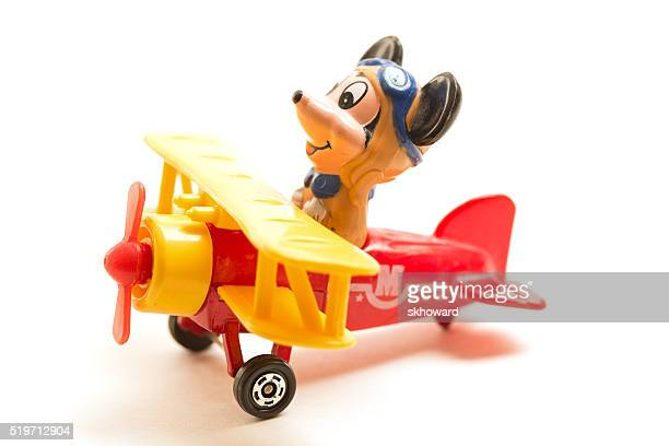 Mickey Mouse Flying Biplane