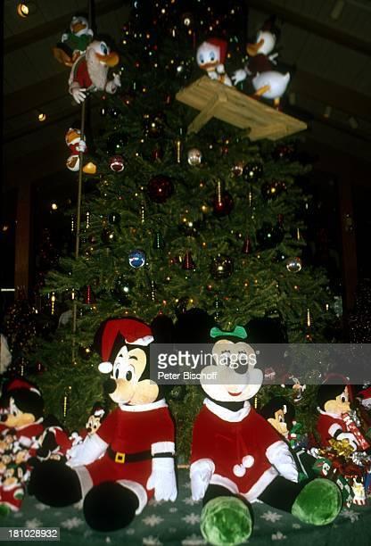 Mickey Mouse Minnie Mouse Disneyworld Orlando Florida Nordamerika Amerika USA Reise Vergnügungspark Reise Freizeitpark Comicfigur Minnie Maus Micky...