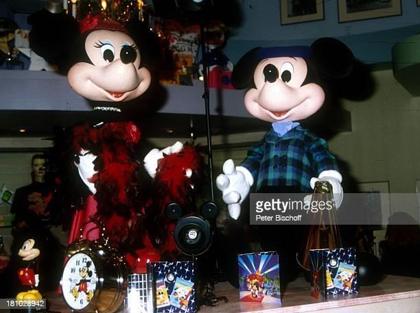 Mickey Mouse Minnie Mouse Souvenirshop Disneyworld Orlando Florida Nordamerika Amerika USA Reise Vergnügungspark Souvenirs Freizeitpark Comicfigur...