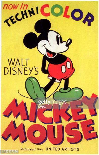 Mickey Mouse, poster, 1930s.