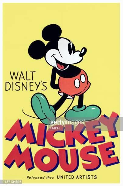 Mickey Mouse poster circa 1932