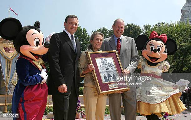 Mickey Mouse Robert Iger CEOelect and president of The Walt Disney Company Diane Disney Miller daughter of Walt Disney Michael Eisner Chief executive...